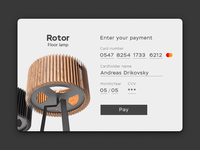 002 Daily Ui Credit Card Checkout