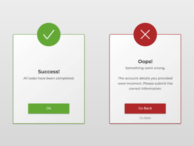 DailyUI #011 Flash Messages flash messages daily ui dailyui dailyui challenge