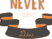 True Ambition Never Dies (Four Ambition tee design)