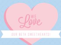 Beta Theta Pi Valentines Day Card