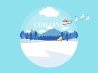 Illustration - Happy Chilling