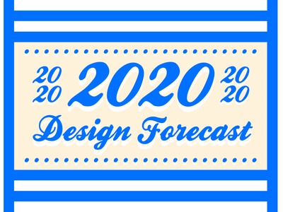 2020 Design Forecast - Click to read! grpahic article new year 2020 forecast design forecast trend design indiana indianapolis innovatemap