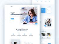 Financial Advisor Landing Page