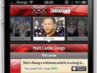 Download songs UI from Official X Factor app
