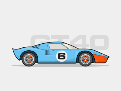 1960 Ford GT 40