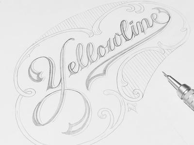 Yellowline Handlettering