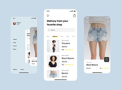 Mobile app concept application mobile app design app minimal ux ui concept