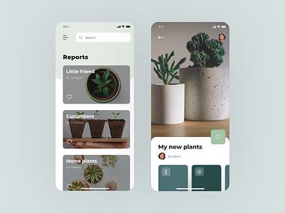 Mobile App Concept #dailyui daily ui mobile mobile app app concept art minimal ux ui design concept