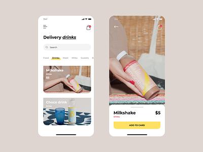 Mobile App For Shop ecommerce app mobile app concept art mobile app minimal ui ux design concept
