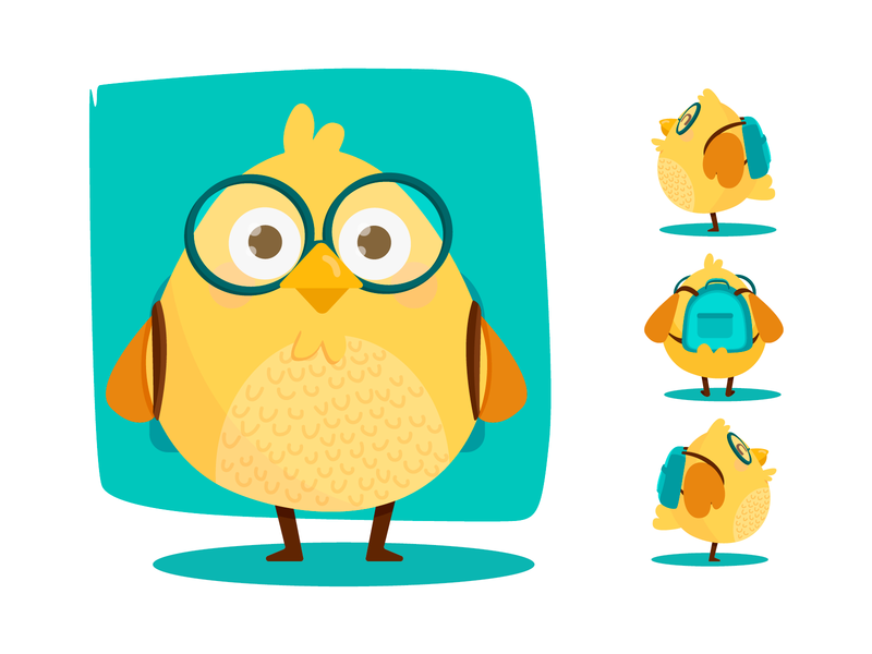 Tom chicken design character digital yaffa concept illustration colombia animal doodle chiken