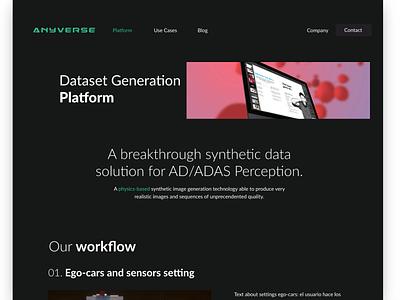 Website minimalist UI design designer website daily 100 challenge frontend dailyui ui