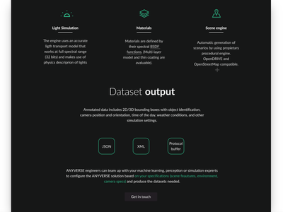 Website minimalist UI design darkmode adobexd website designer daily 100 challenge frontend studio ux dailyui ui