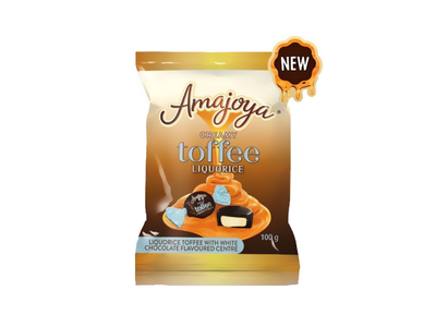Liquorice Toffee 3D render toffee poor pakaging liquid toffee toffee rapper sweet