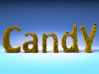 Candy Honey Text