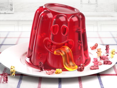 Jelly Pudding Monster