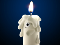 Half life candle