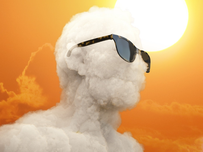 Cloudy Sunglasses characterillustration 3dillustration 3drender animation illustrator illustrationage illustration cloud shades sunglasses overcast cloudy