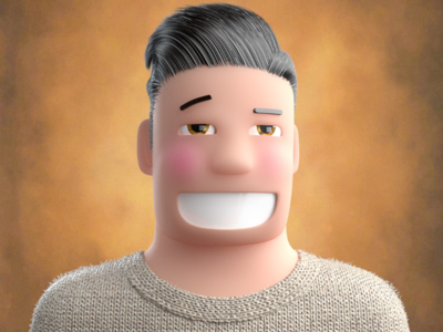 Profile pic characterillustration characterdesign 3dcharacter 3dillustration 3drender animation illustrator illustrationage illustration profilephoto cartoon