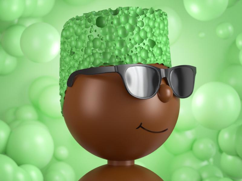 Mint chocolate character design 3d character 3d cgi 3dillustration 3d render animation designer illustration artist illustrator illustration age illustration chocolate mintchocolate cartoon