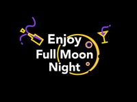 Enjoy Full Moon Night Logo