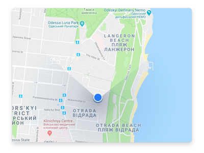 Daily UI #020. Location Tracker mobile app daily ui 020 dailyui navigation map location