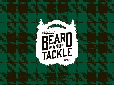 Beard & Tackle design logo branding