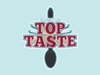 'Top Taste' Spoon Logo