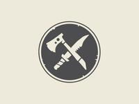 Tomahawk and Knife Emblem