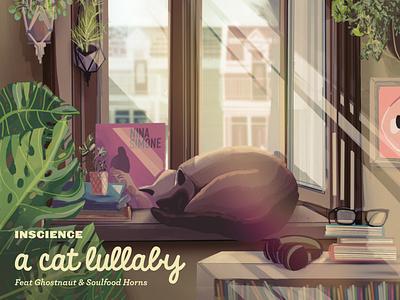 Inscience lofi artwork illustration