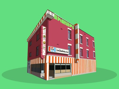 Diners series vecto shop illustrator illustration flat diners burger