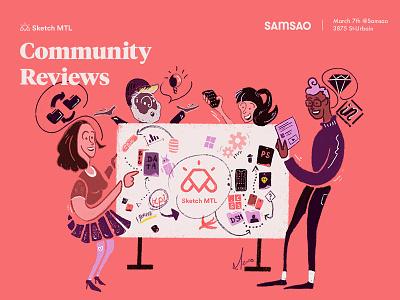 ✍️ illustration for the next Sketch MTL event share community illustration montreal mtl sketch