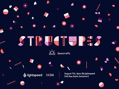 💎 S T R U C T U R E 💎 design talk sketchmtl sketckapp event