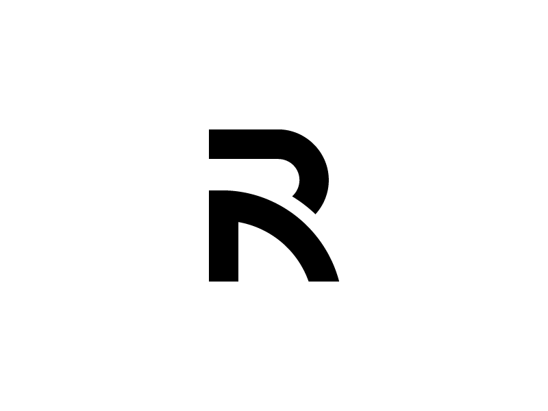 Rial Monogram By Boutik Dribbble