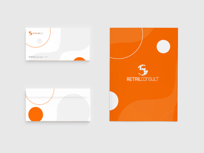 Retail Consult Re-Branding mockup design corporate identity logotype symbol logo retail branding
