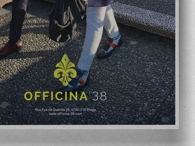 Officina'38 Ad poster