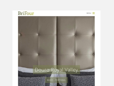 Brifour Website Responsive real estate wordpress site clean minimal furniture hotel design web website brifour