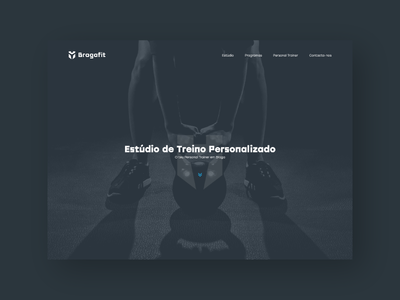 Bragafit - Fitness Studio studio fitness design award css ui webdesign website