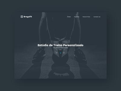 Bragafit - Fitness Studio studio fitness design award css ui webdesign website
