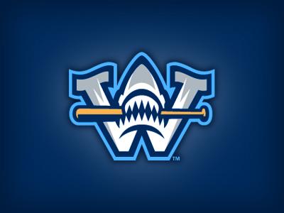 Wilmington sharks cap logo by studio simon dribbble for Jim beam signature craft for sale
