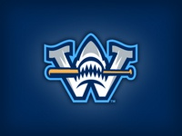 Wilmington Sharks Cap Logo