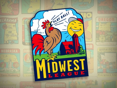 Road Not Taken, Part 16 midwest barn sun rooster decal baseball studio simon