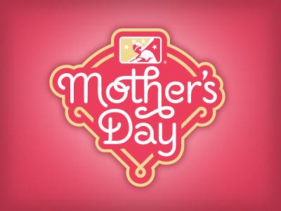 Road Not Taken, Part 20 monoline custom lettering mother mothers day baseball logo studio simon
