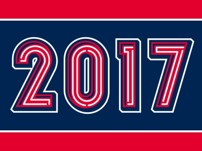2017 baseball neon numbers 2017 studio simon