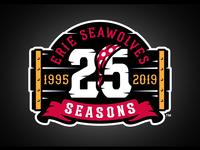 Erie SeaWolves 25 Seasons