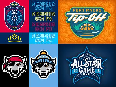 Top4Shots 2018 script badge sports logo studio simon