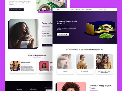 Landing Page (LEAP) branding design ux ui uiux landingpage adobe illustrator