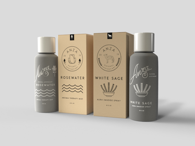 Anza Apothecary Package Design