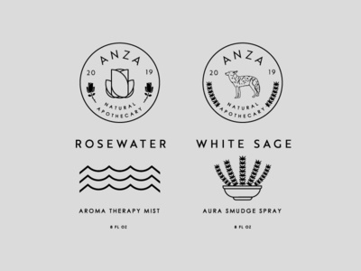 Anza Apothecary Labels