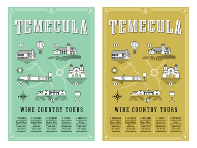 Temecula Wine Country Tour Posters