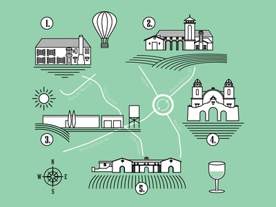 Temecula Wine Country Map